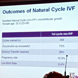 Natural cycle IVF